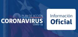 Banner a sitio oficial del gobierno con información de medidas adoptadas por el Covid-19